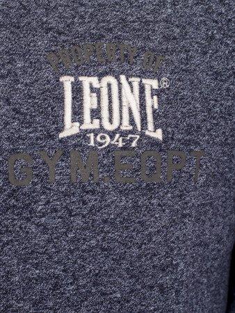 LEONE - BLUZA PROSTA S [LSM1551_granatowa]