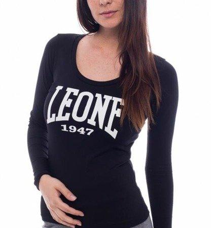 LEONE - T-SHIRT długi rękaw [LW508_czarny]