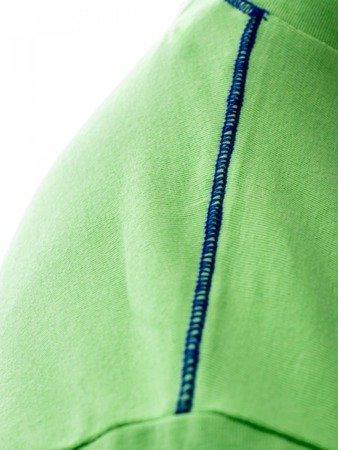 LEONE T-shirt zielony M [LSM1663]