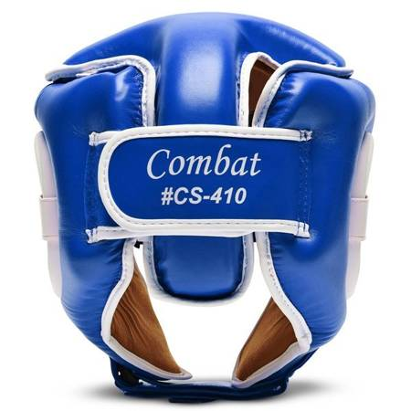 Leone - Kask Combat [CS410_niebieski]