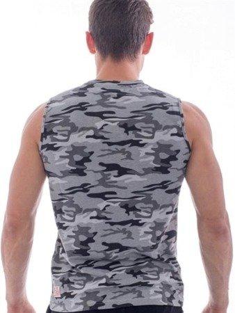 Leone - T-shirt (Camo-szary)