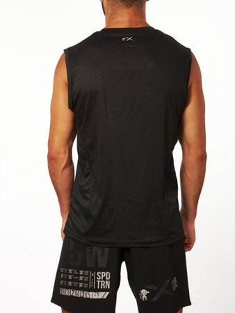 Leone1947 T-shirt bezrękawnik techniczny BASIC czarny S [ABX05]