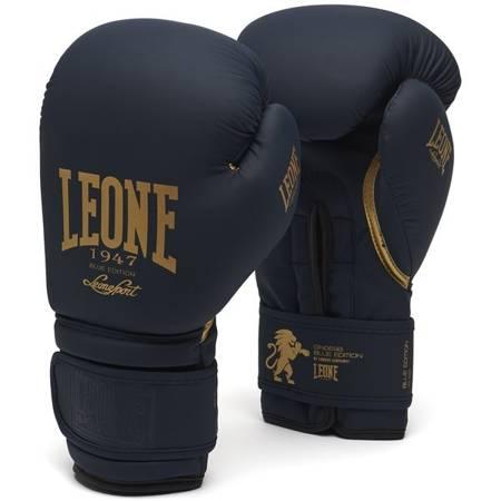 Rękawice bokserskie BLUE EDITION marki Leone1947